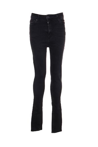 cimarron jeans femme de couleur noir