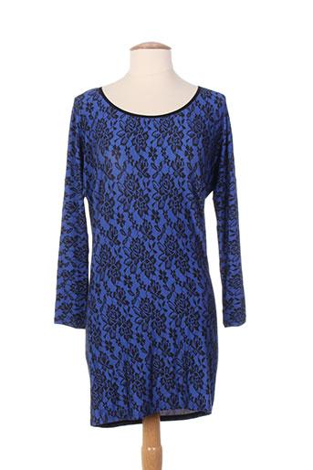 Tunique manches longues bleu ANTIGEL pour femme