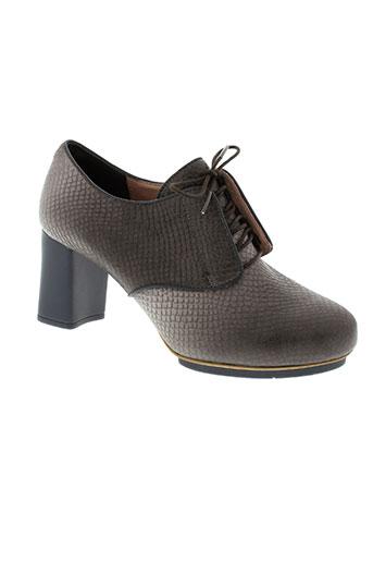 camper chaussures femme de couleur gris