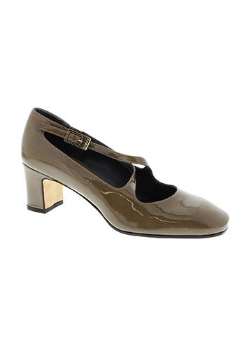 lario chaussures femme de couleur marron