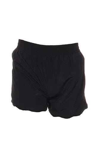 teddy smith shorts et bermudas fille de couleur noir