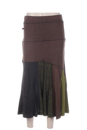 bamboo's jupes femme de couleur vert