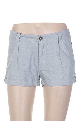 freeman t.porter shorts / bermudas femme de couleur bleu