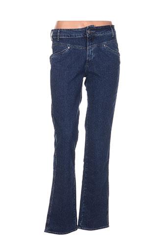 kanope jeans femme de couleur bleu