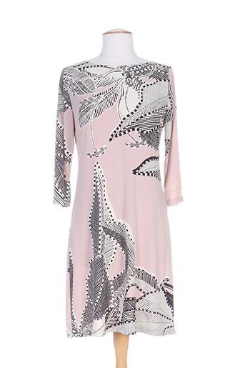 crazy wool robes femme de couleur rose