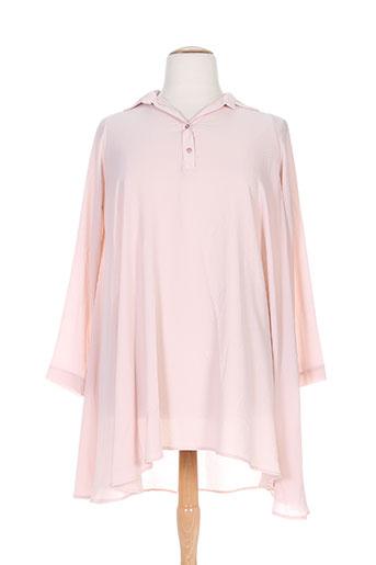 lumina chemises femme de couleur rose