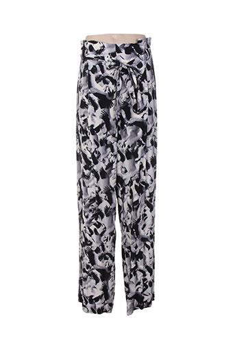isabel de pedro pantalons femme de couleur gris