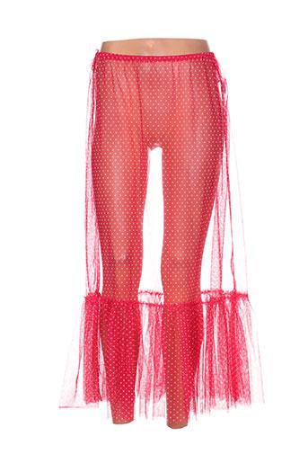 kokomarina jupes femme de couleur rouge