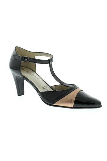 metayer chaussures femme de couleur noir