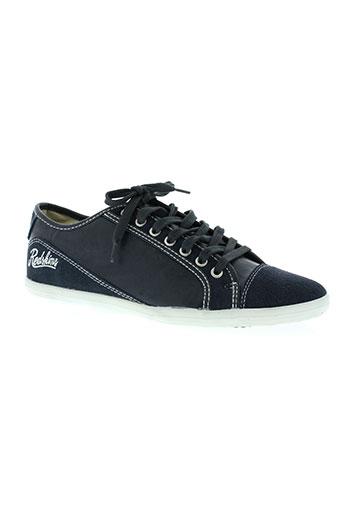 redskins chaussures homme de couleur bleu
