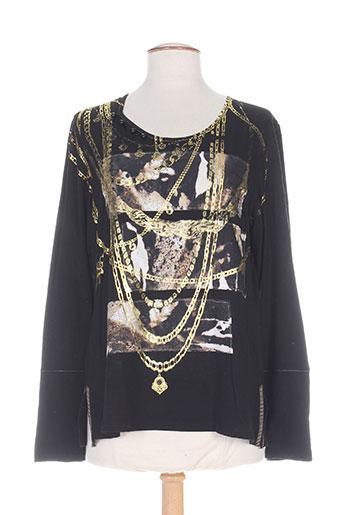 be the queen t-shirts femme de couleur noir