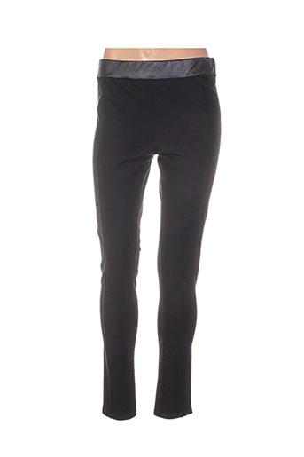 fifilles pantalons femme de couleur noir