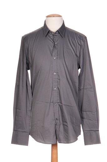 antony morato chemises homme de couleur gris