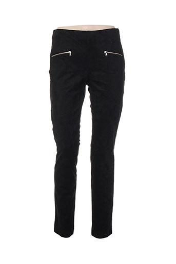 atelier gardeur pantalons femme de couleur noir