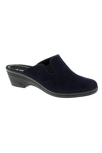 romika chaussures femme de couleur bleu