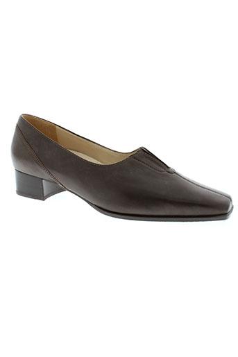 hassia chaussures femme de couleur marron