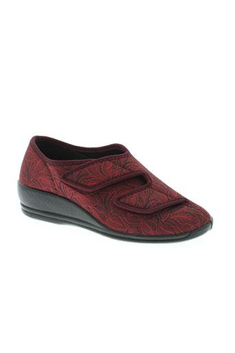 florett chaussures femme de couleur rouge