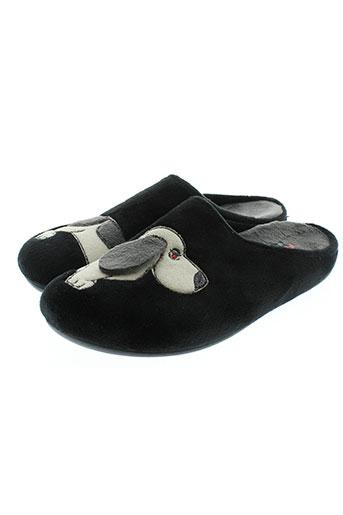 florett chaussures femme de couleur noir