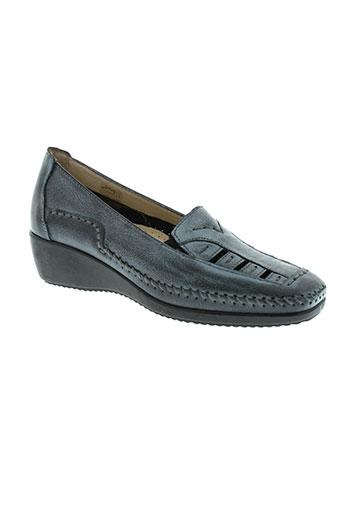 flexell chaussures femme de couleur gris