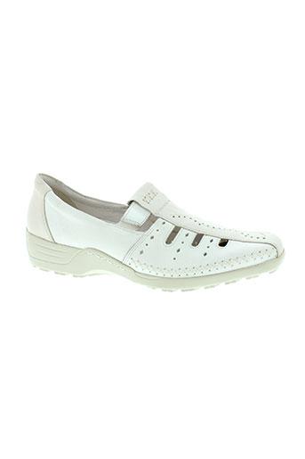 remonte dorndorf chaussures femme de couleur blanc