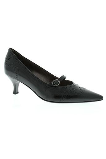 gabor chaussures femme de couleur noir