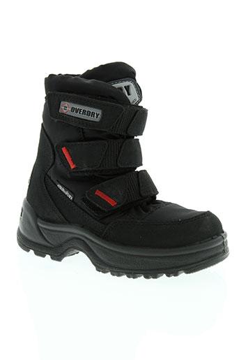 delta tex chaussures enfant de couleur noir