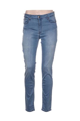 emma EFFI_CHAR_1 caro jeans femme de couleur bleu