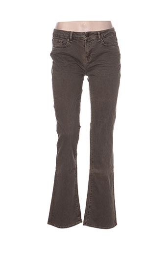 pablo gerard darel jeans femme de couleur vert