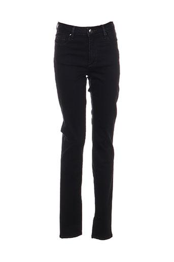 emma EFFI_CHAR_1 caro pantalons femme de couleur noir