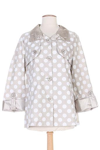 beaumont manteaux femme de couleur gris