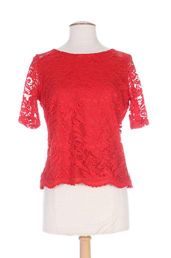 fille a suivre t-shirts femme de couleur rouge
