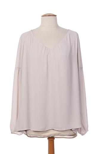 comma chemises femme de couleur gris