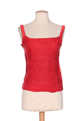 jolie mine chemises femme de couleur rouge
