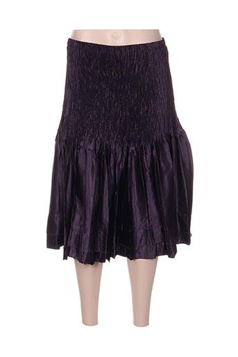 jolie mine jupes femme de couleur violet