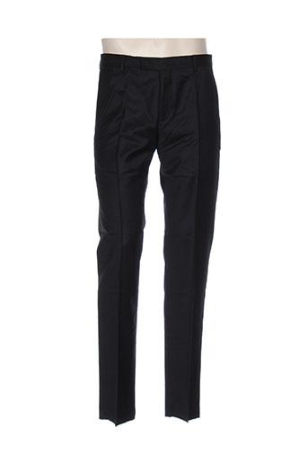 strellson pantalons homme de couleur noir