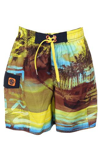 losan maillots de bain garçon de couleur jaune
