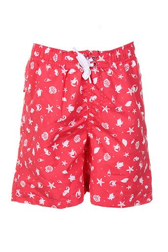 losan maillots de bain garçon de couleur rouge
