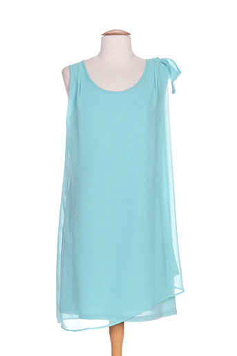 moka's robes femme de couleur bleu