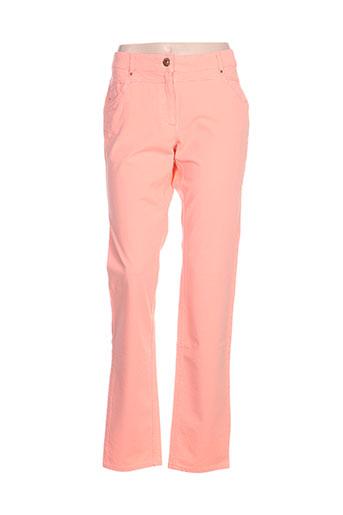 zerres pantalons femme de couleur orange