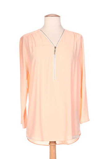 honey moon chemises femme de couleur orange
