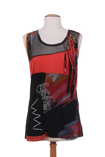 les fees du vent t-shirts / tops femme de couleur noir