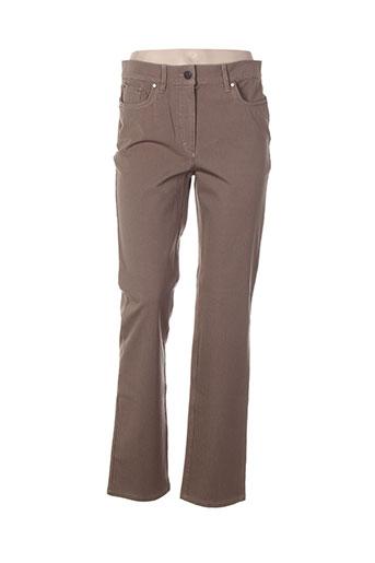 zerres pantalons femme de couleur beige