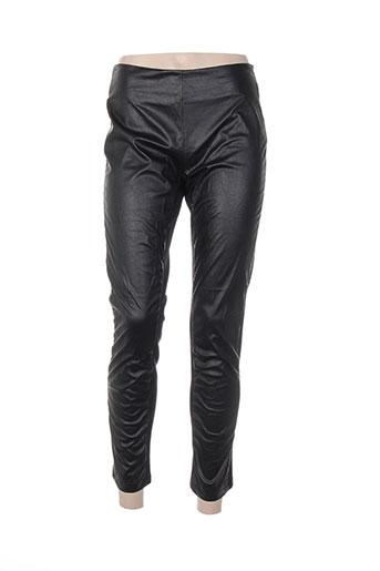 nana nucci pantalons femme de couleur noir