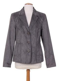 Veste chic / Blazer gris KIRSTEN pour femme