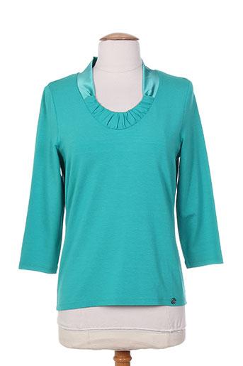 lucia chemises femme de couleur vert