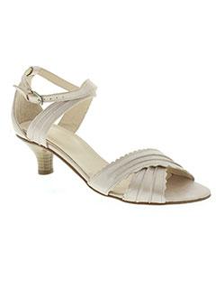 Sandales/Nu pieds beige CORINE pour femme