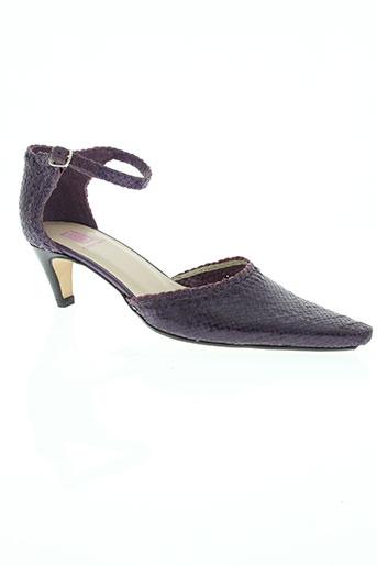 france mode chaussures femme de couleur violet