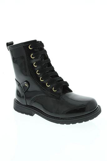 lea lelo chaussures fille de couleur noir