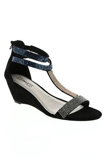 elue par nous chaussures femme de couleur noir