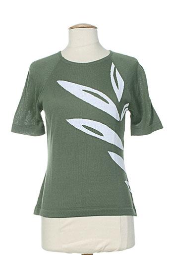 montagut pulls femme de couleur vert